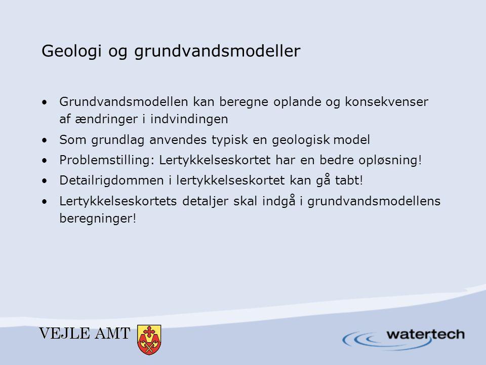 Geologi og grundvandsmodeller