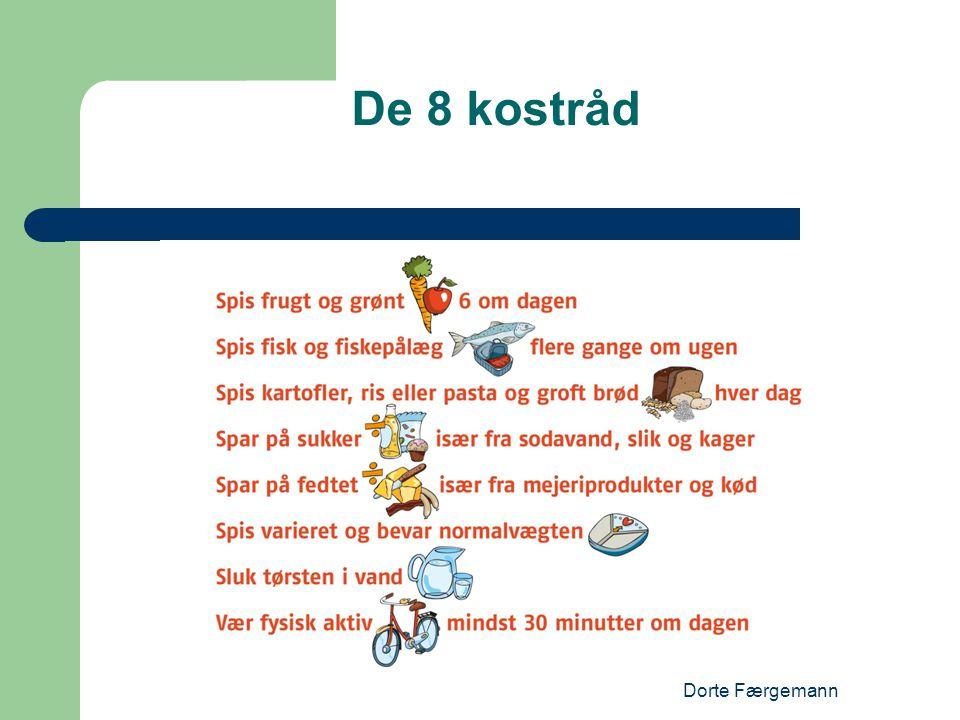 De 8 kostråd Dorte Færgemann