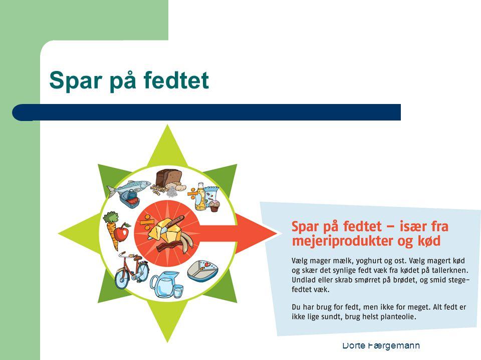 Spar på fedtet Dorte Færgemann