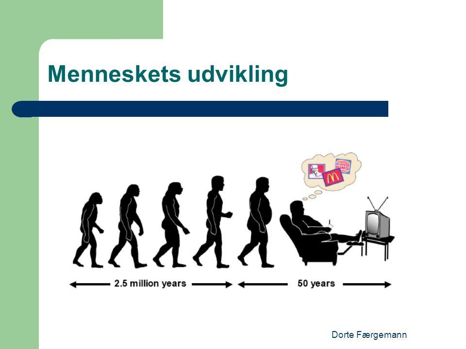 Menneskets udvikling Dorte Færgemann