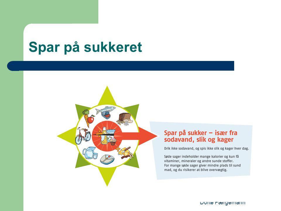 Spar på sukkeret Dorte Færgemann