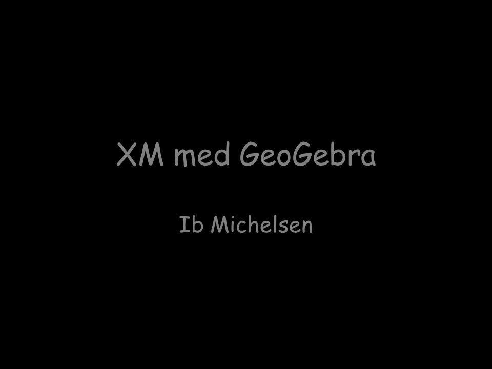 XM med GeoGebra Ib Michelsen