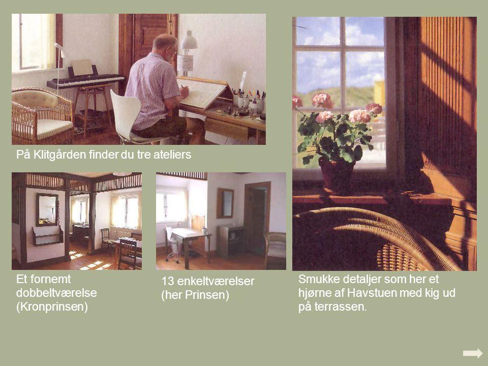På Klitgården finder du tre ateliers