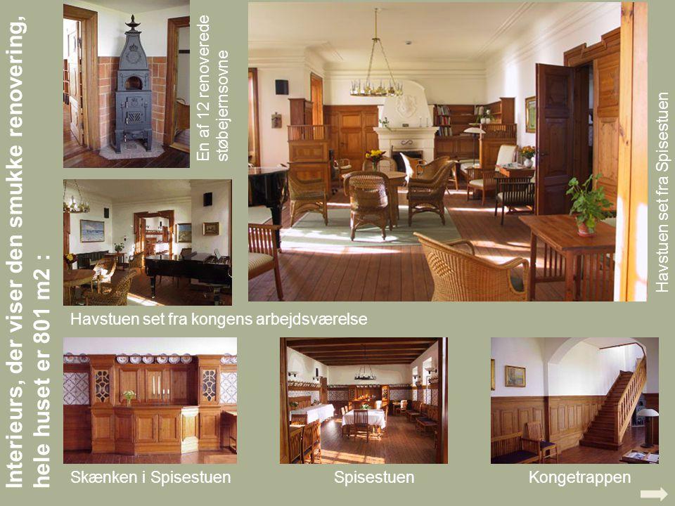 Interieurs, der viser den smukke renovering, hele huset er 801 m2 :