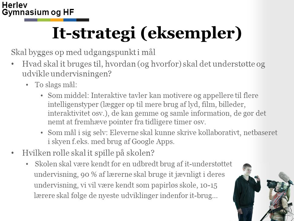 It-strategi (eksempler)