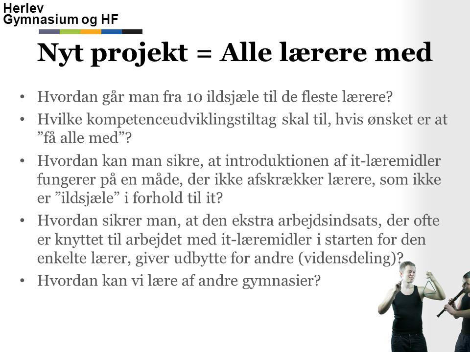 Nyt projekt = Alle lærere med