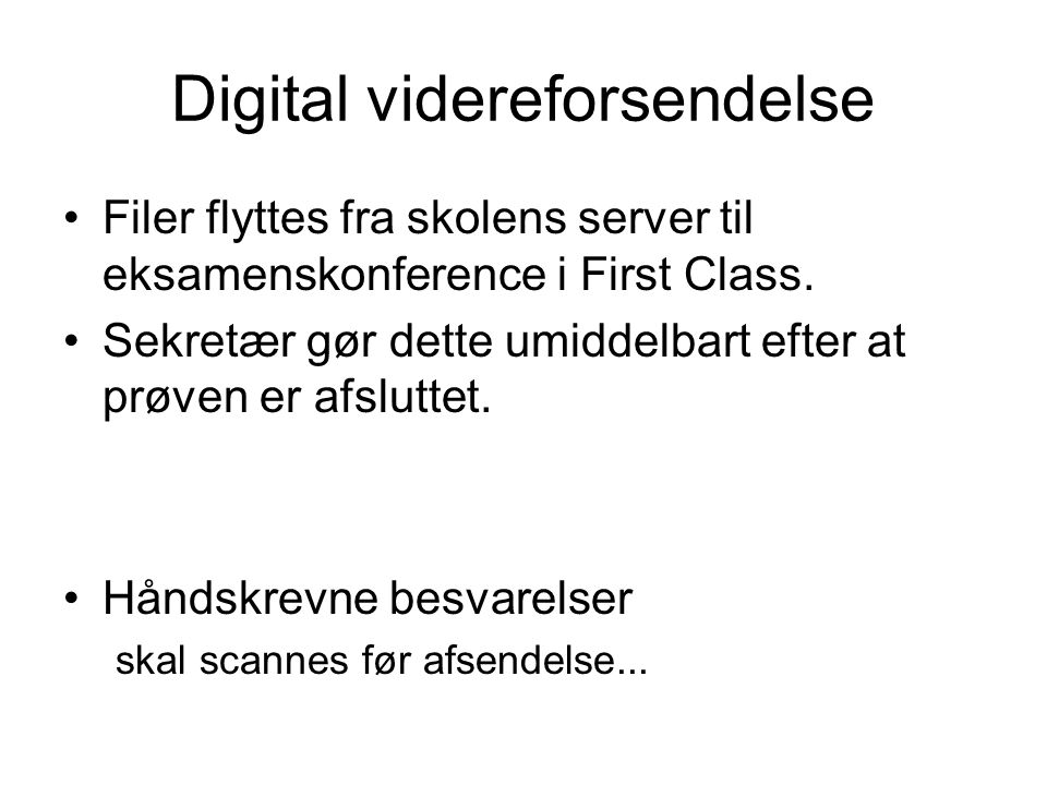 Digital videreforsendelse
