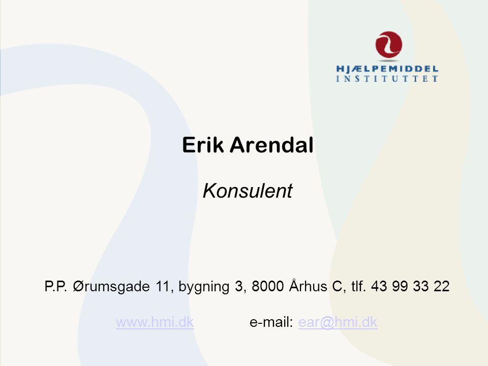 Erik Arendal Konsulent