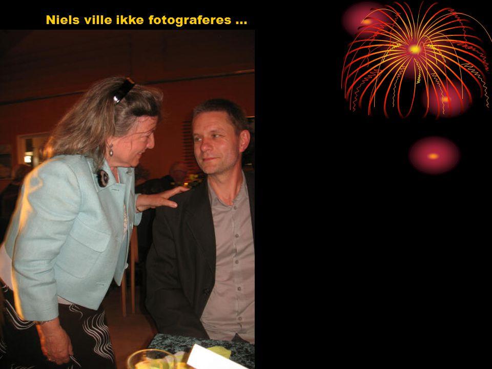 Niels ville ikke fotograferes …