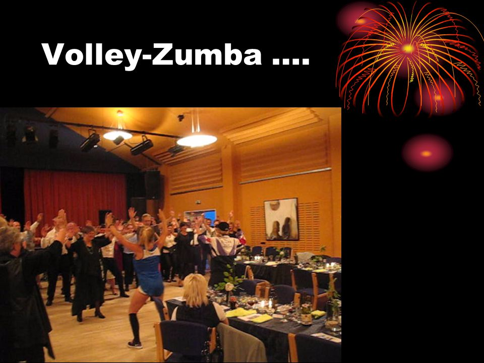 Volley-Zumba ….
