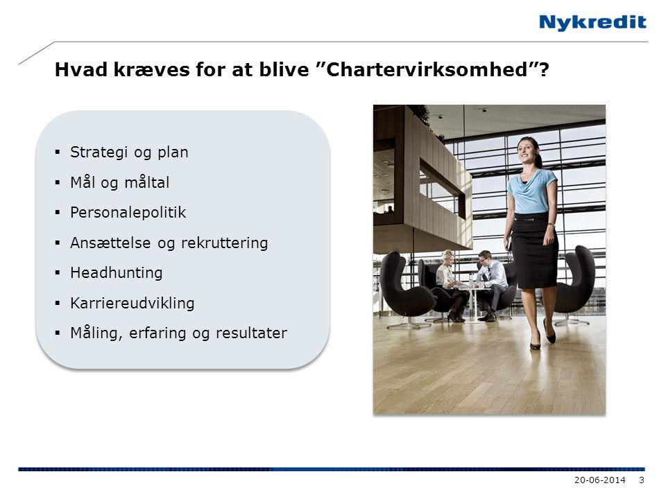 Hvad kræves for at blive Chartervirksomhed