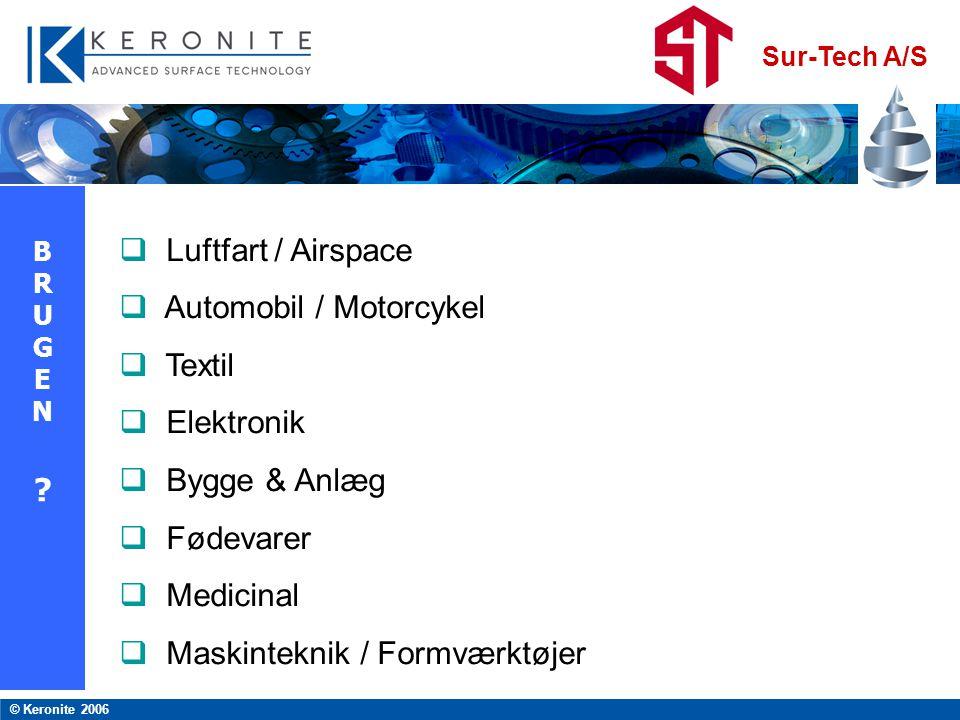 Automobil / Motorcykel Textil Elektronik Bygge & Anlæg Fødevarer