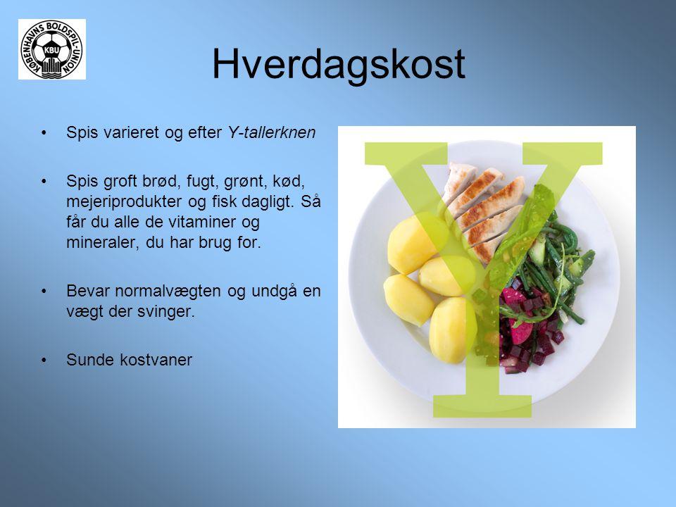 Hverdagskost Spis varieret og efter Y-tallerknen