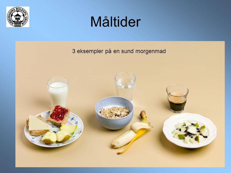 3 eksempler på en sund morgenmad