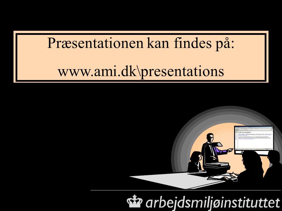 Præsentationen kan findes på: