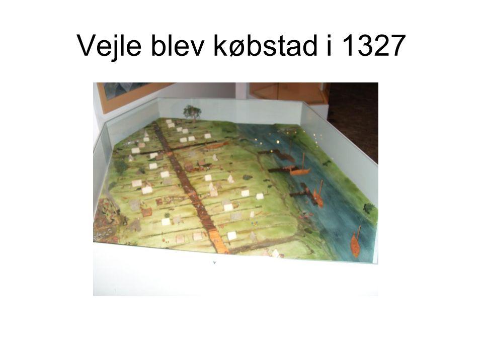 Vejle blev købstad i 1327