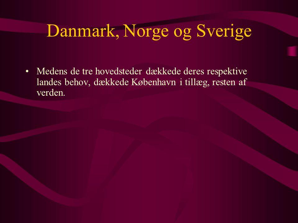 Danmark, Norge og Sverige