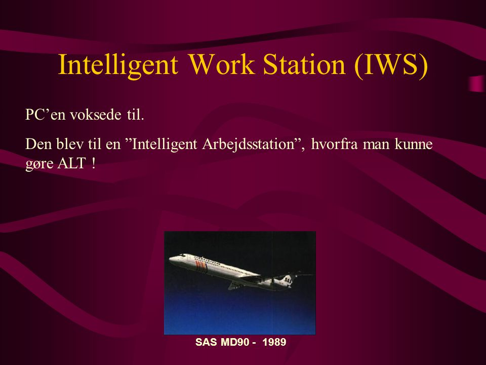 Intelligent Work Station (IWS)