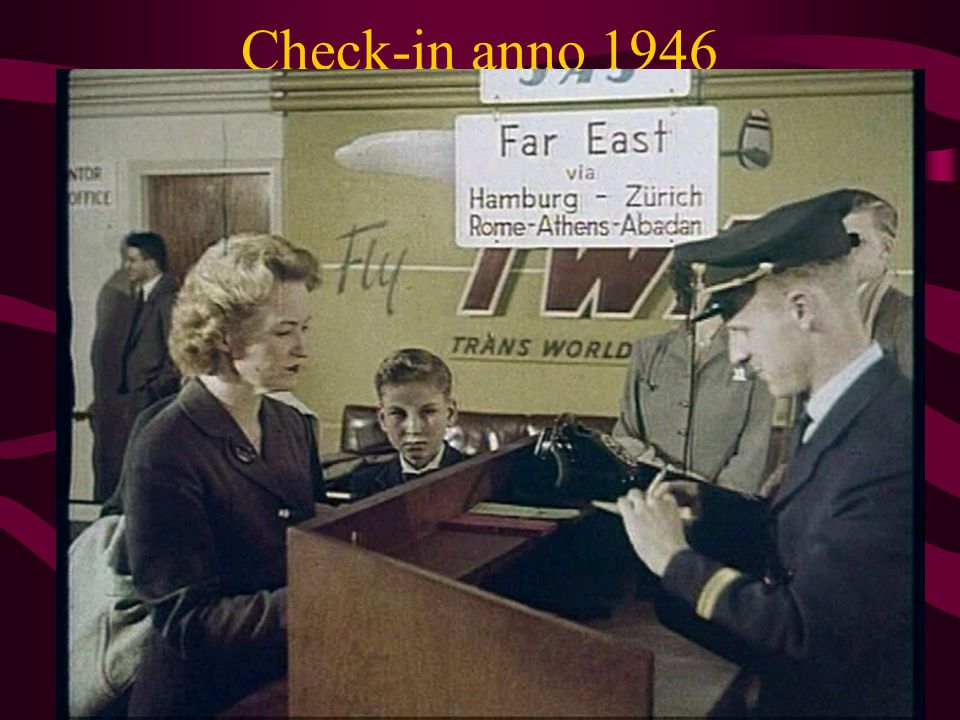 Check-in anno 1946