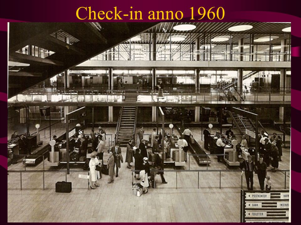 Check-in anno 1960