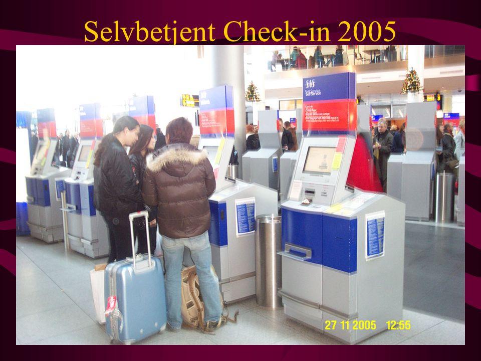 Selvbetjent Check-in 2005