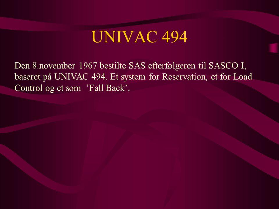 UNIVAC 494