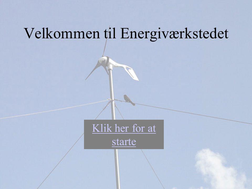 Velkommen til Energiværkstedet