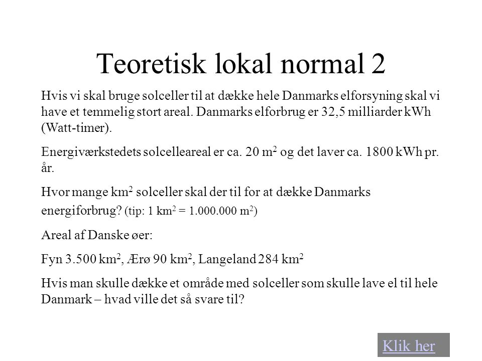 Teoretisk lokal normal 2