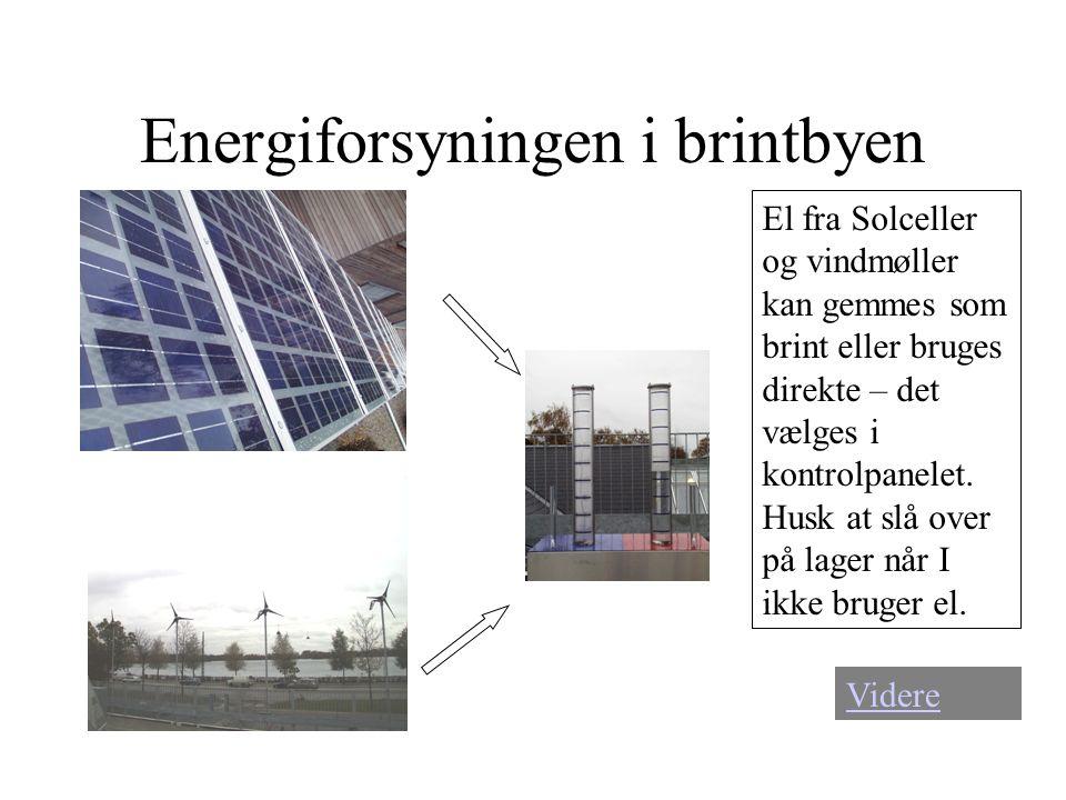Energiforsyningen i brintbyen