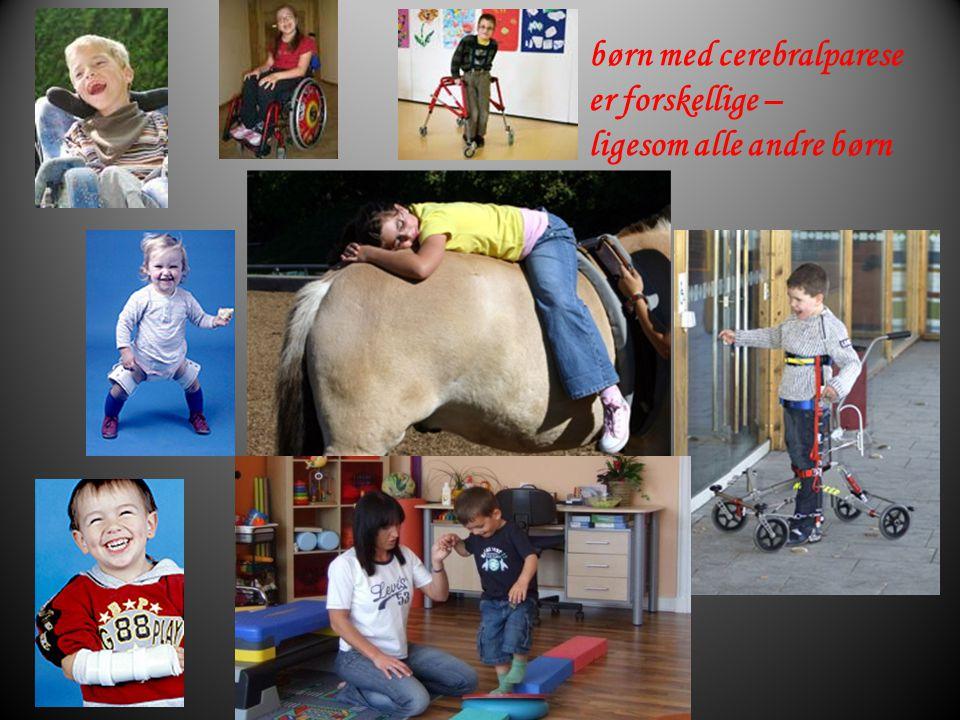 børn med cerebralparese