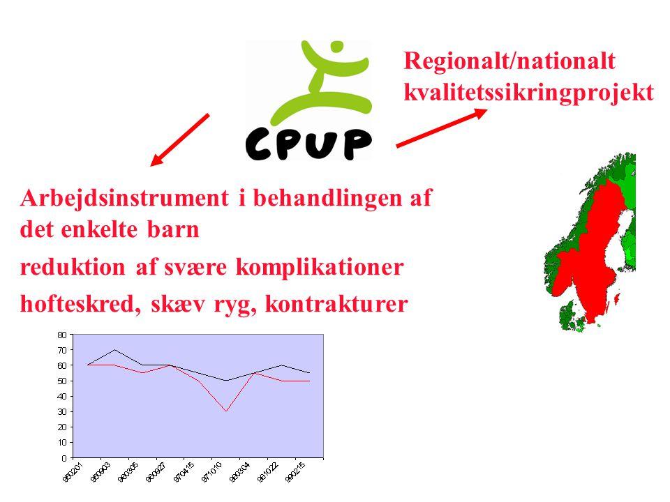 Regionalt/nationalt kvalitetssikringprojekt. Arbejdsinstrument i behandlingen af det enkelte barn.