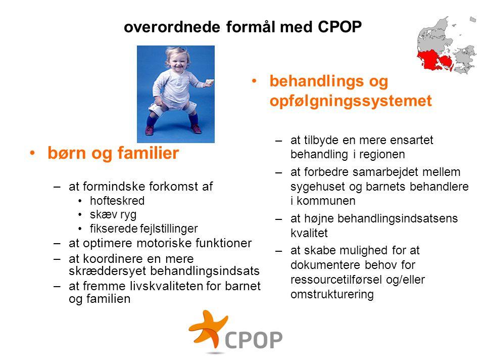 overordnede formål med CPOP
