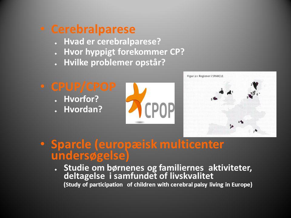 Sparcle (europæisk multicenter undersøgelse)