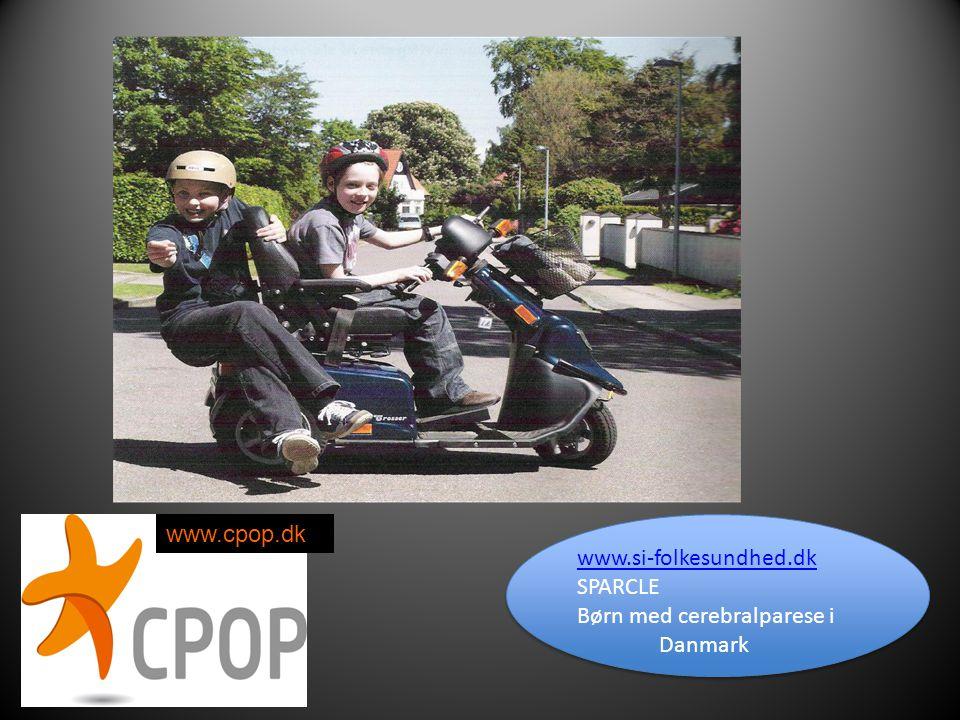 www.cpop.dk www.si-folkesundhed.dk SPARCLE Børn med cerebralparese i Danmark