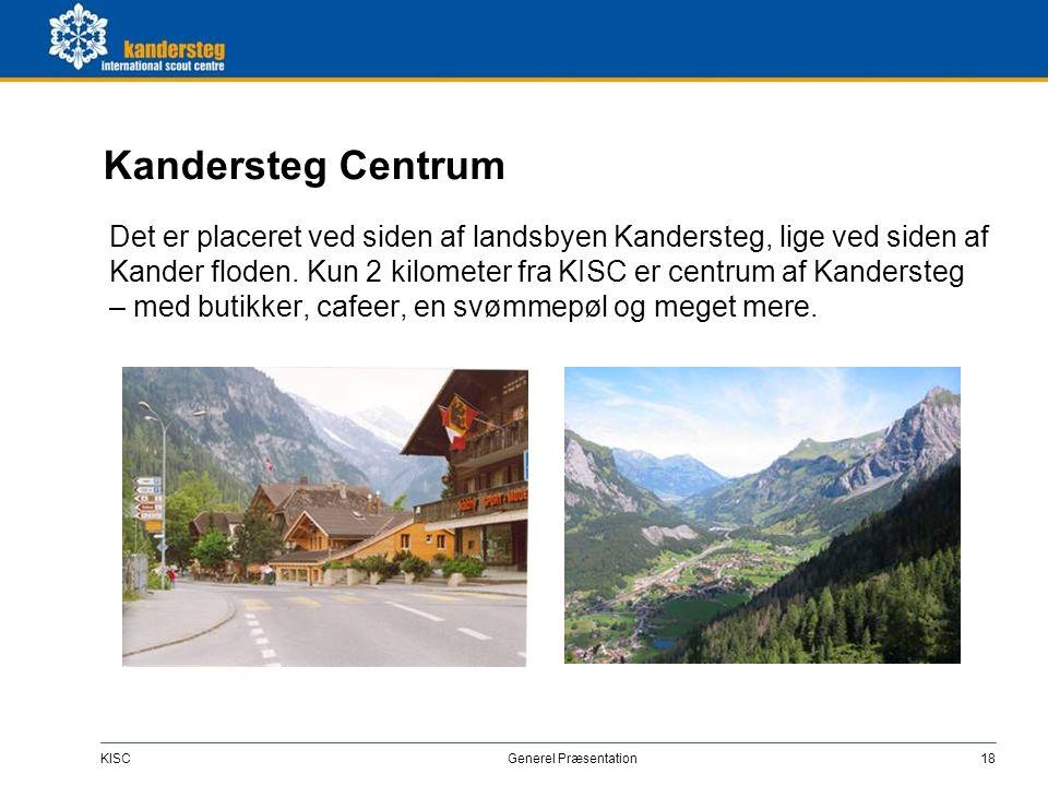 Rejse Tog Kandersteg station er på Lötschberg hovedlinien