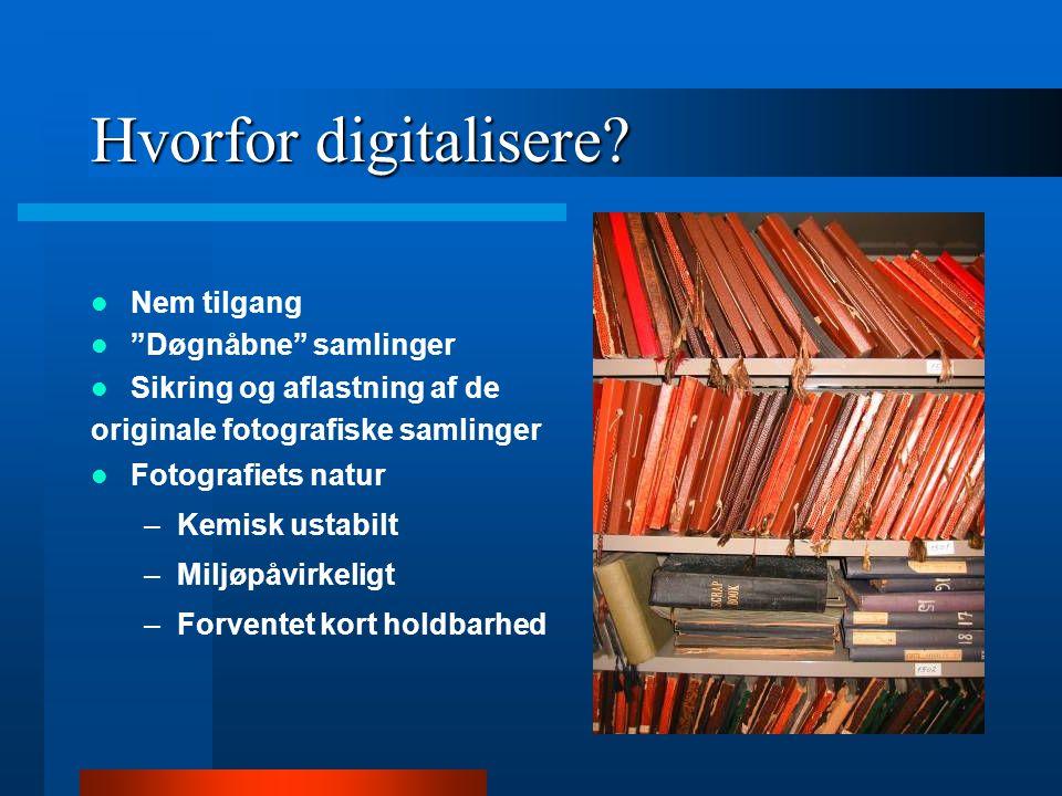 Hvorfor digitalisere Nem tilgang Døgnåbne samlinger