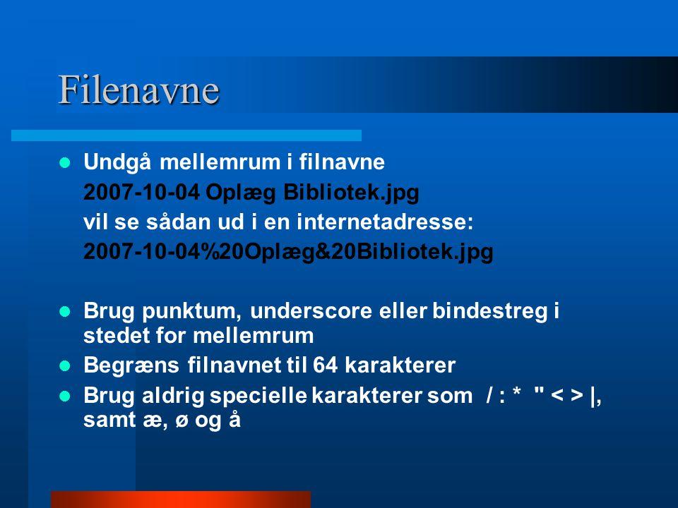 Filenavne Undgå mellemrum i filnavne 2007-10-04 Oplæg Bibliotek.jpg