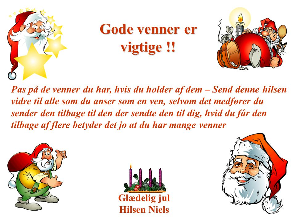 God Jul ? Du behøver ikke at vente til Jul…. - ppt download