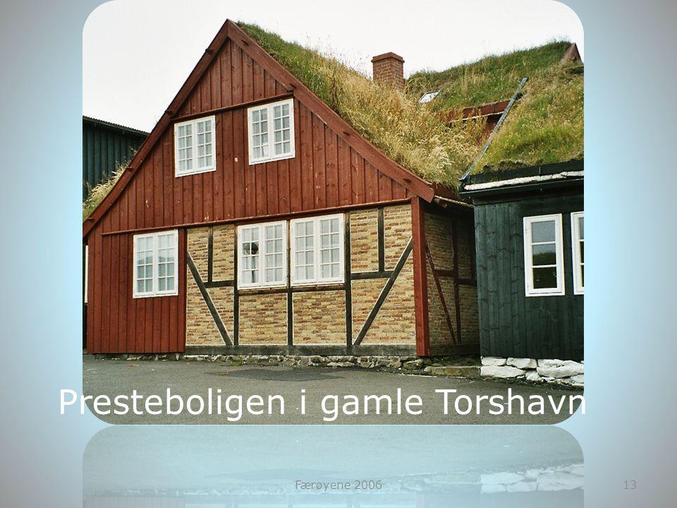 Presteboligen i gamle Torshavn