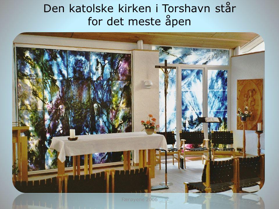 Den katolske kirken i Torshavn står
