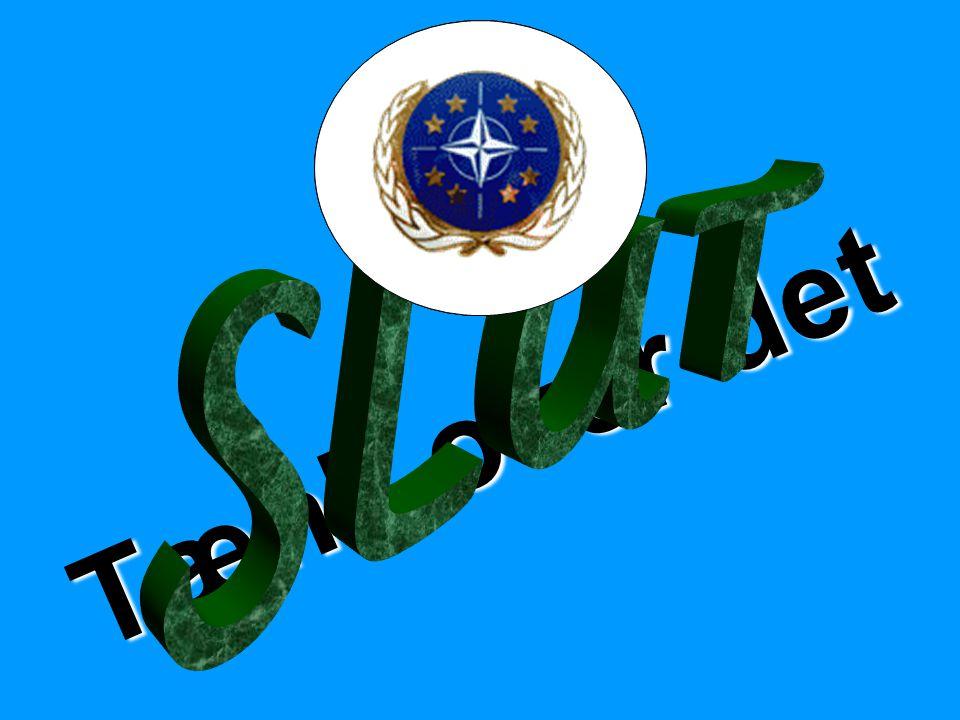 NATO NATO OSCE OSCE SLUT EU Tænk over det