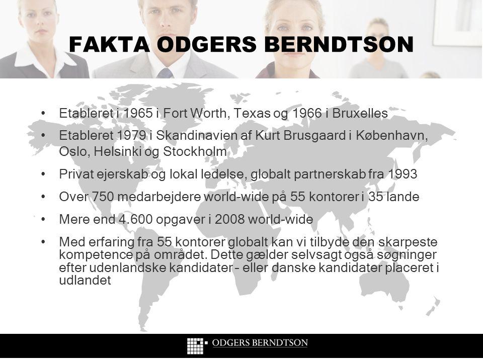 FAKTA ODGERS BERNDTSON
