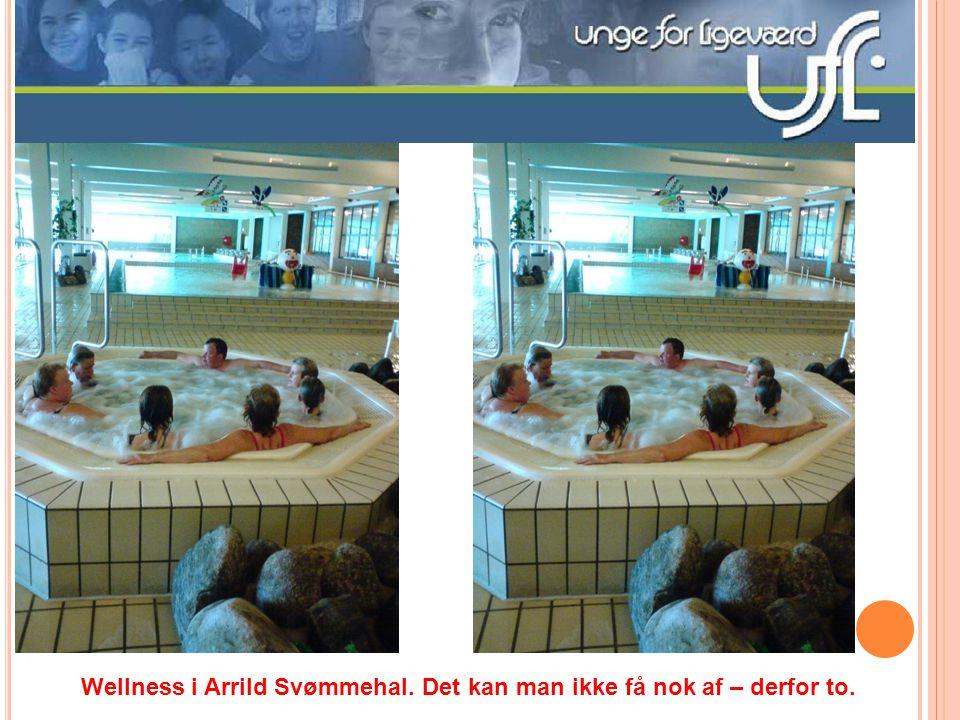 Wellness i Arrild Svømmehal. Det kan man ikke få nok af – derfor to.