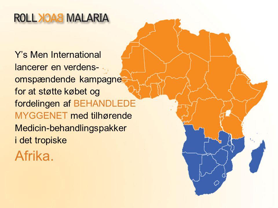 Afrika. Y's Men International lancerer en verdens-