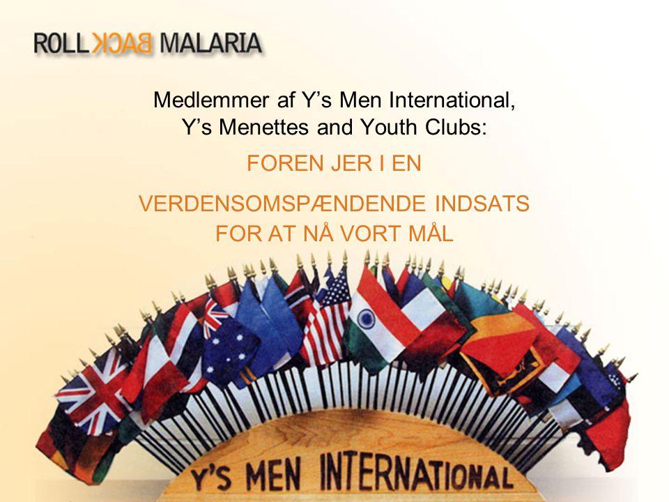Medlemmer af Y's Men International, Y's Menettes and Youth Clubs: