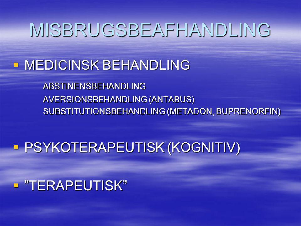 MISBRUGSBEAFHANDLING