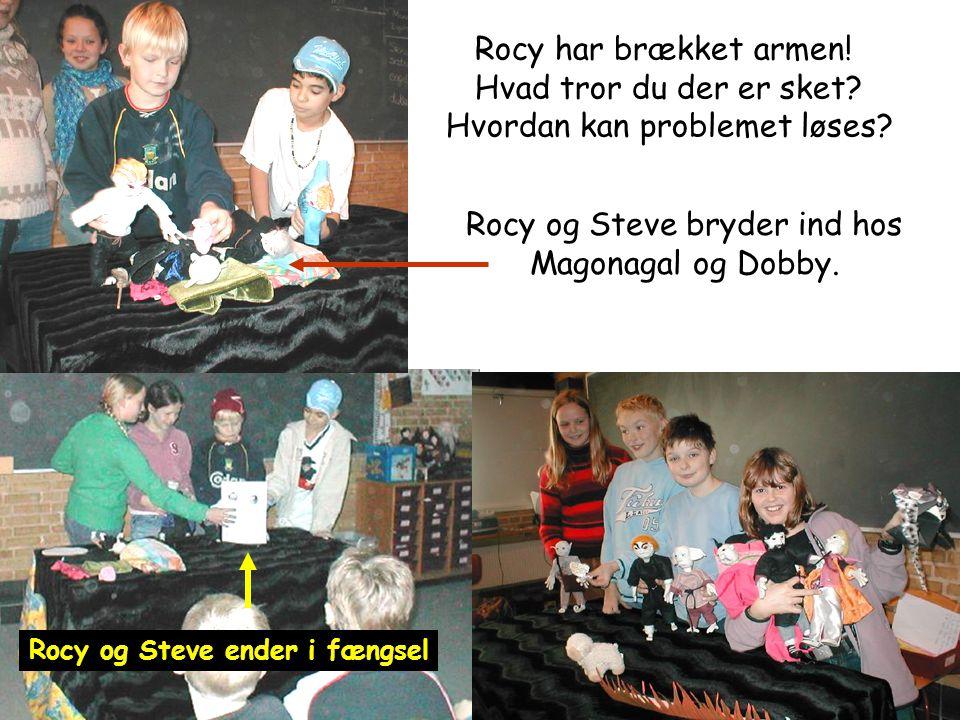 Rocy og Steve ender i fængsel
