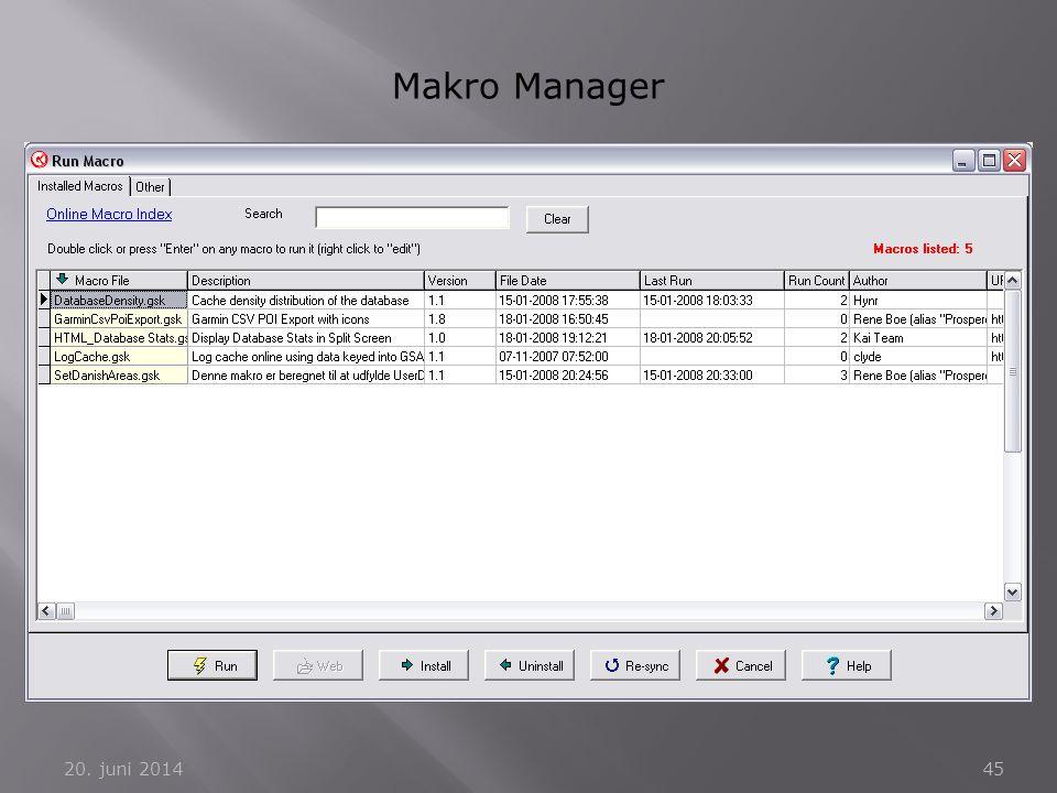 Makro Manager 2. april 2017
