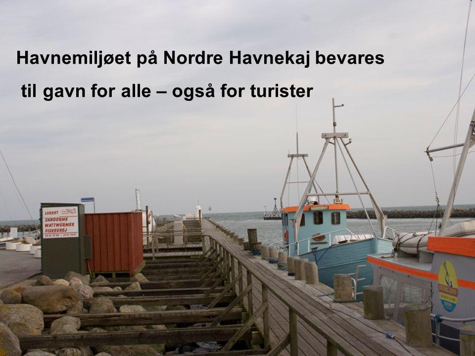 Havnemiljøet på Nordre Havnekaj bevares