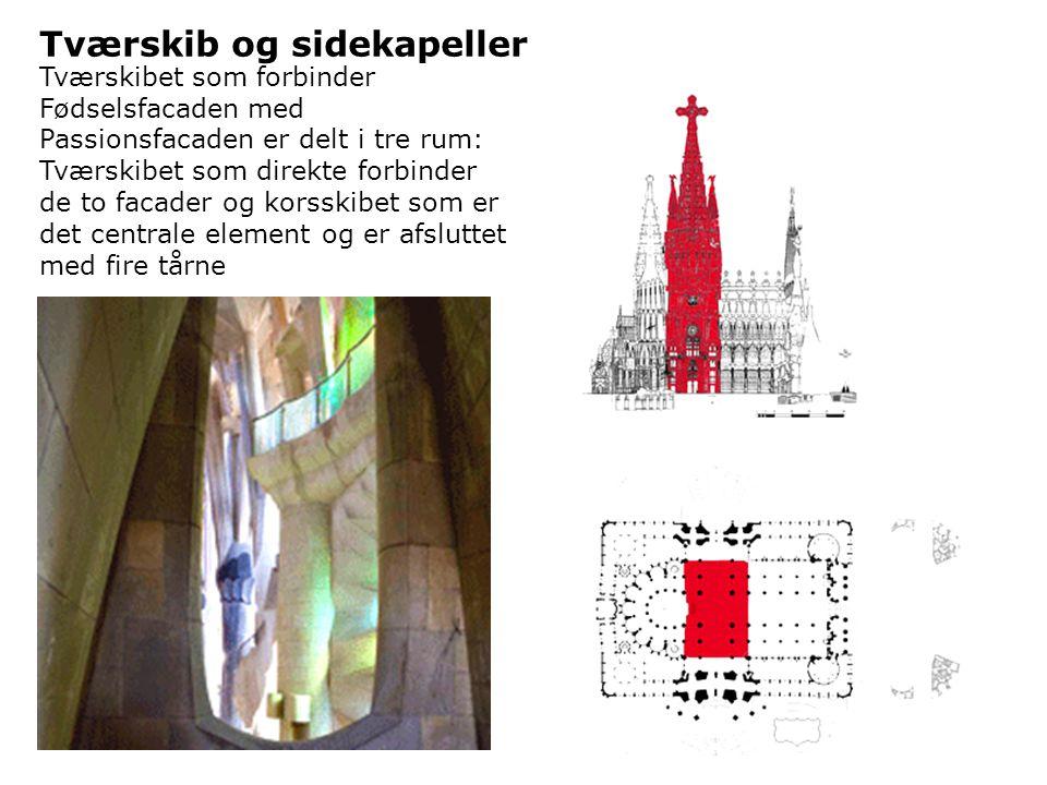 Tværskib og sidekapeller